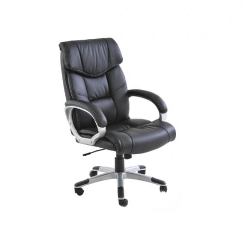 Cadeira Office Cartagena Revestimento em PU e Base com regulagem de altura Dimensões: Altura 1,11m a 1,21m Profundidade: 0,71m  Largura: 0,73m