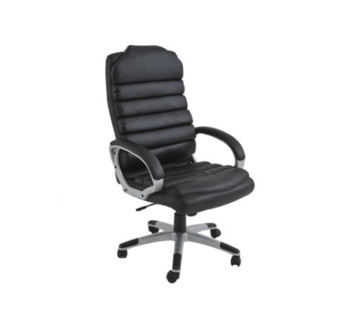 Cadeira Office Andaluzia Revestimento em PU e Base com regulagem de altura Dimensões: Altura 1,16m a 1,26m Profundidade: 0,74m  Largura: 0,87m